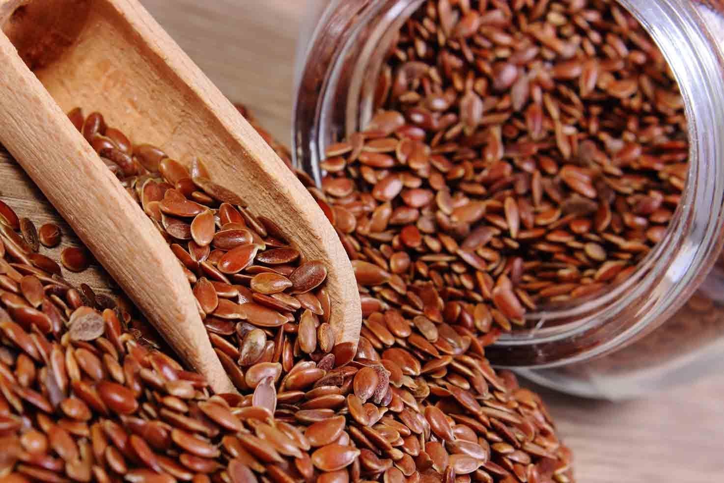 Flaxseed health benefits.
